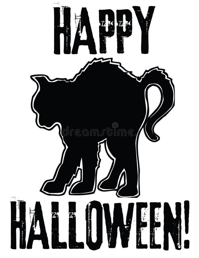 Glückliches Halloween! vektor abbildung
