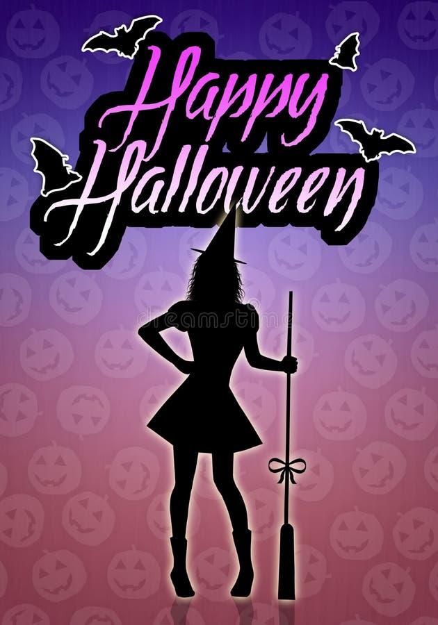 Glückliches Halloween vektor abbildung