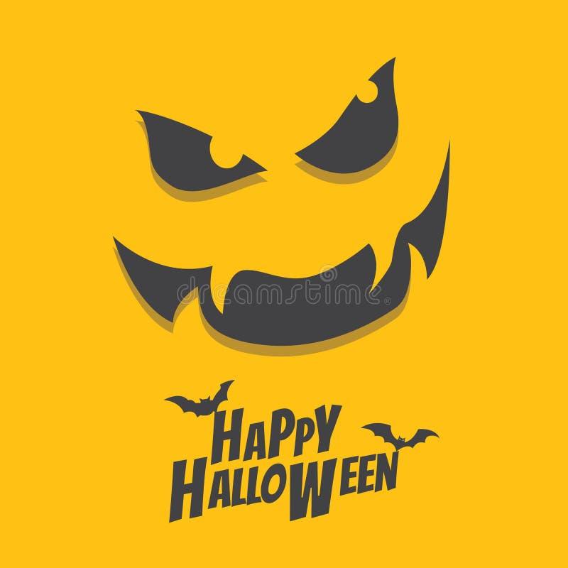Glückliches Halloween stock abbildung