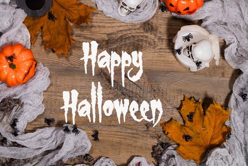 Glückliches Halloween Hintergrund lizenzfreies stockbild