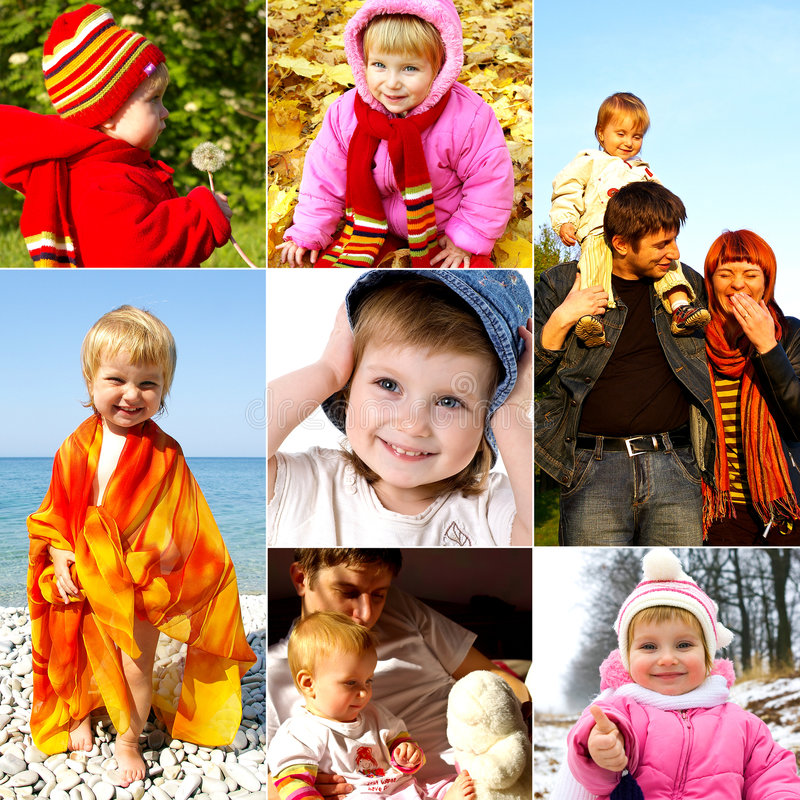 Glückliches Kindheitkonzept lizenzfreie stockbilder