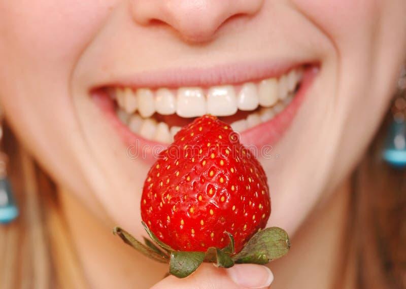 Glückliches Lächeln lizenzfreies stockbild