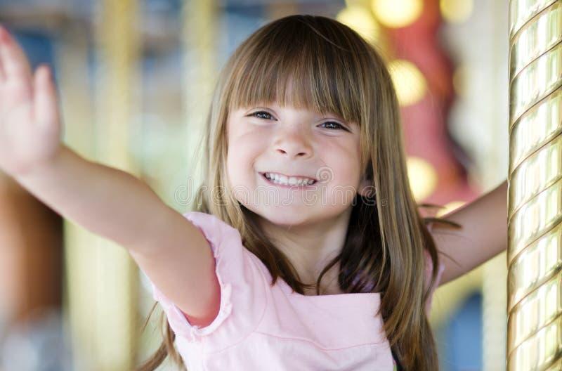 Glückliches lächelndes Kind lizenzfreie stockfotografie