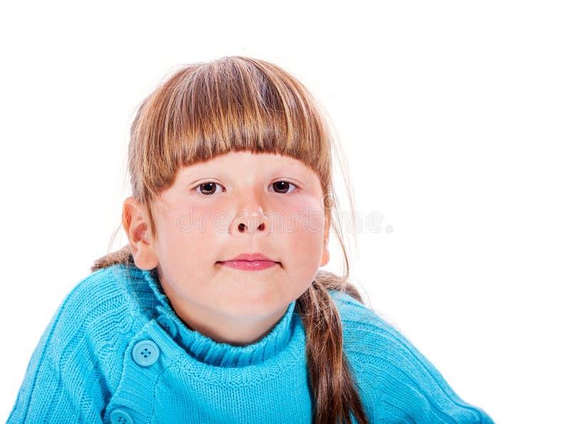 Glückliches lächelndes Mädchen lizenzfreie stockfotografie
