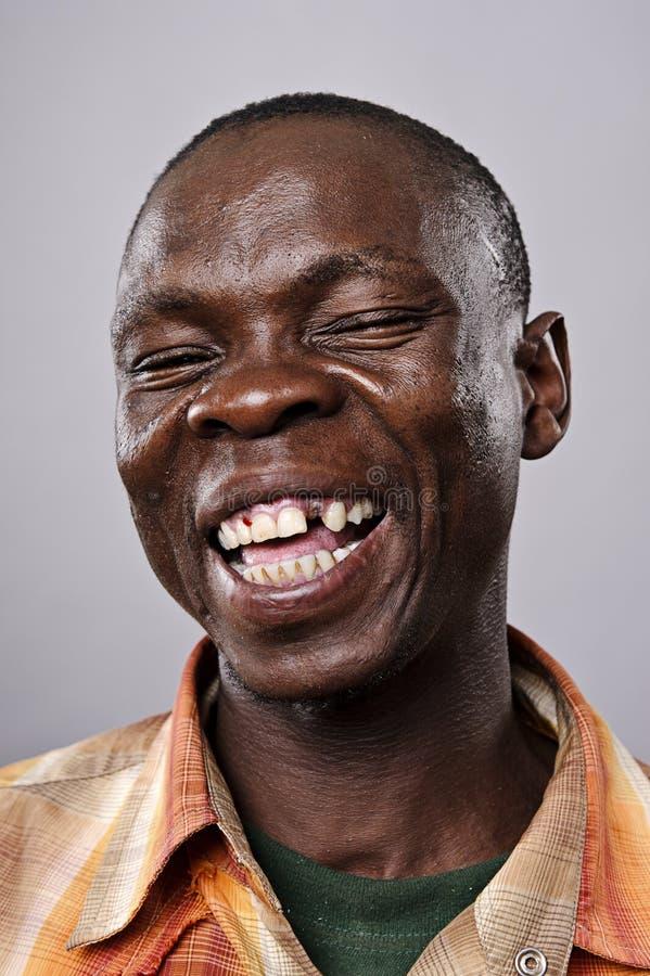 Glückliches lächelndes Portrait lizenzfreie stockfotos