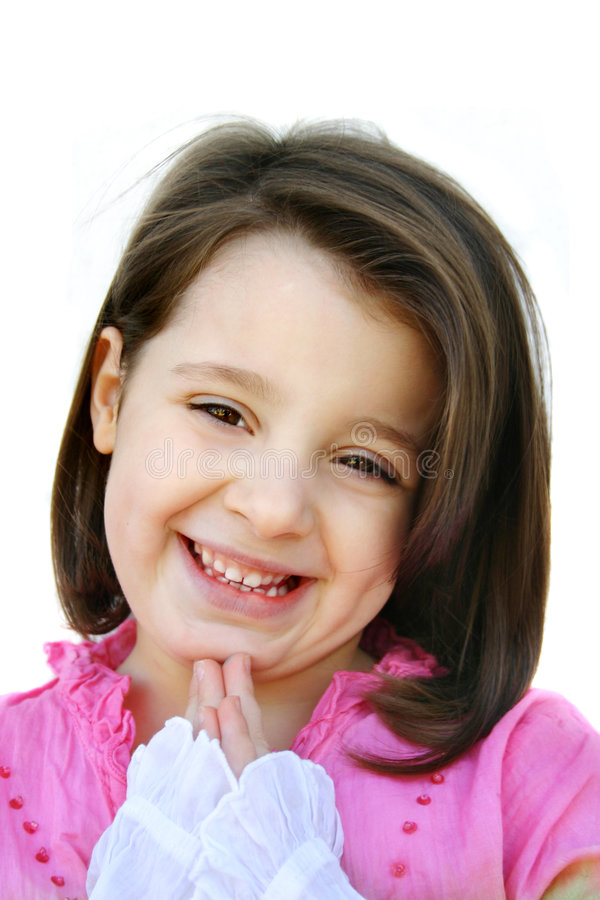 Glückliches Mädchen lizenzfreies stockfoto