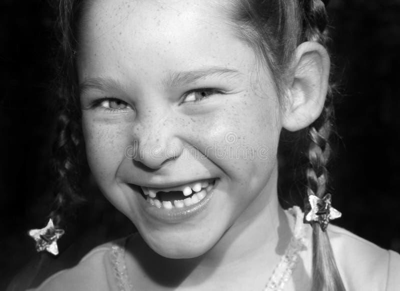 Glückliches Mädchen stockbild
