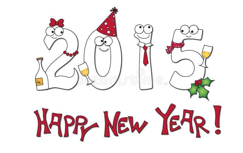 Download Glückliches neues yeear stock abbildung. Illustration von winter - 47100667