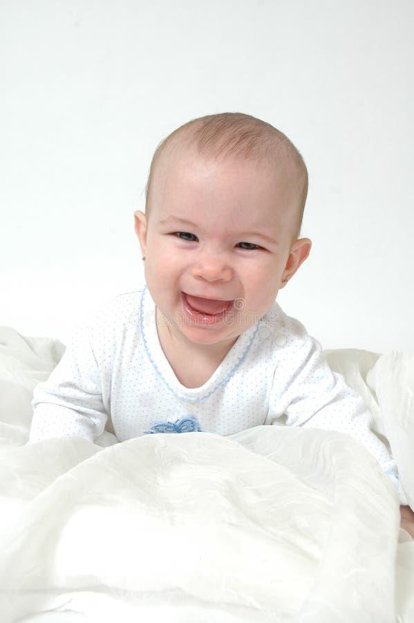 Glückliches Schätzchen lizenzfreies stockfoto
