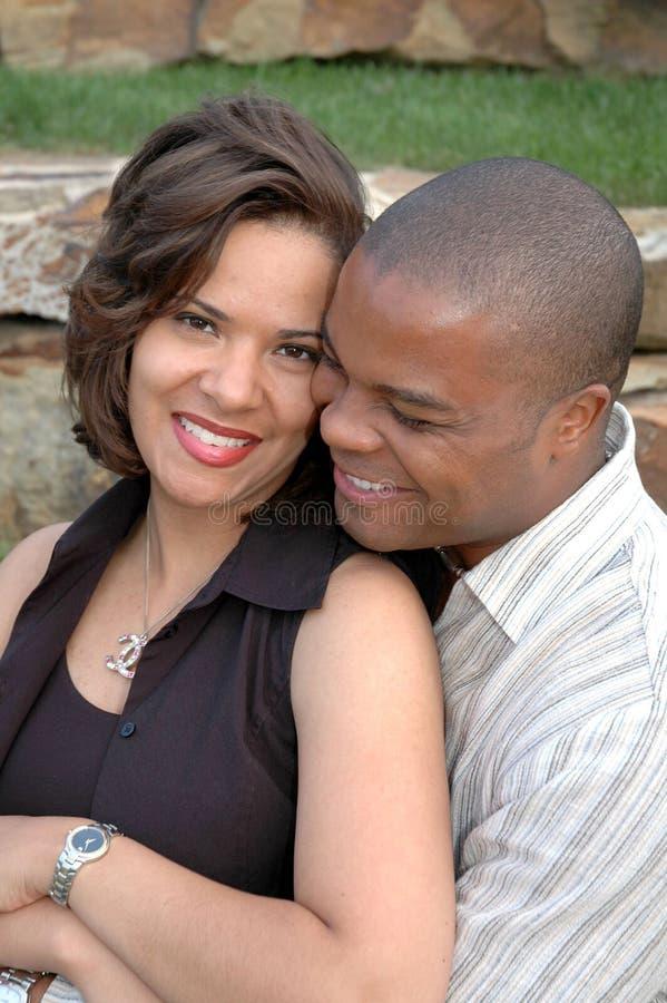 Glückliches verheiratetes Paar lizenzfreie stockfotos
