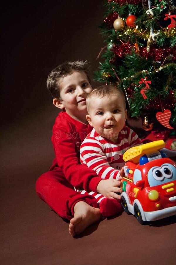 Glückliches Weihnachten stockbild