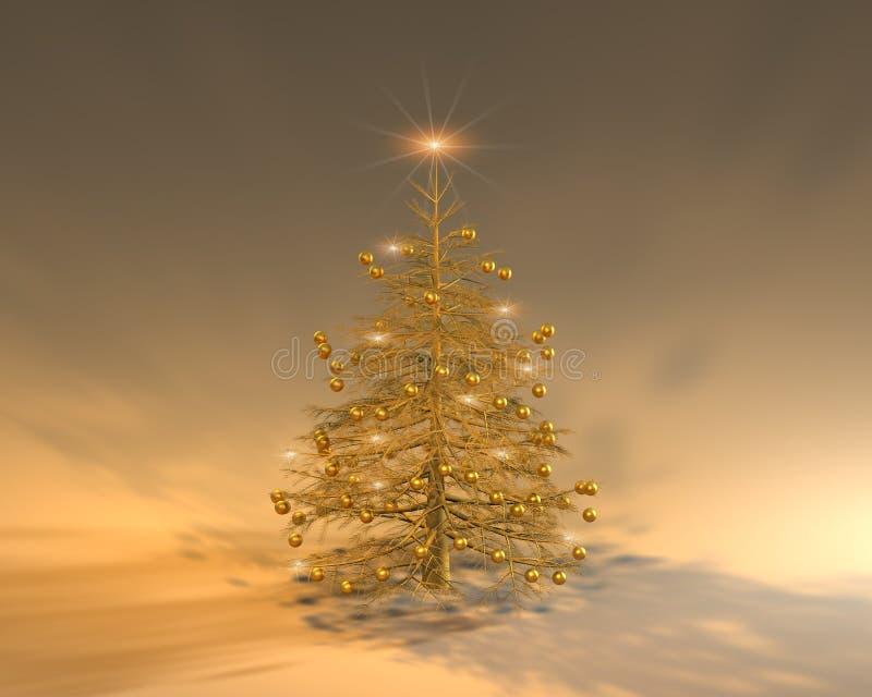 Glückliches Weihnachten II stock abbildung