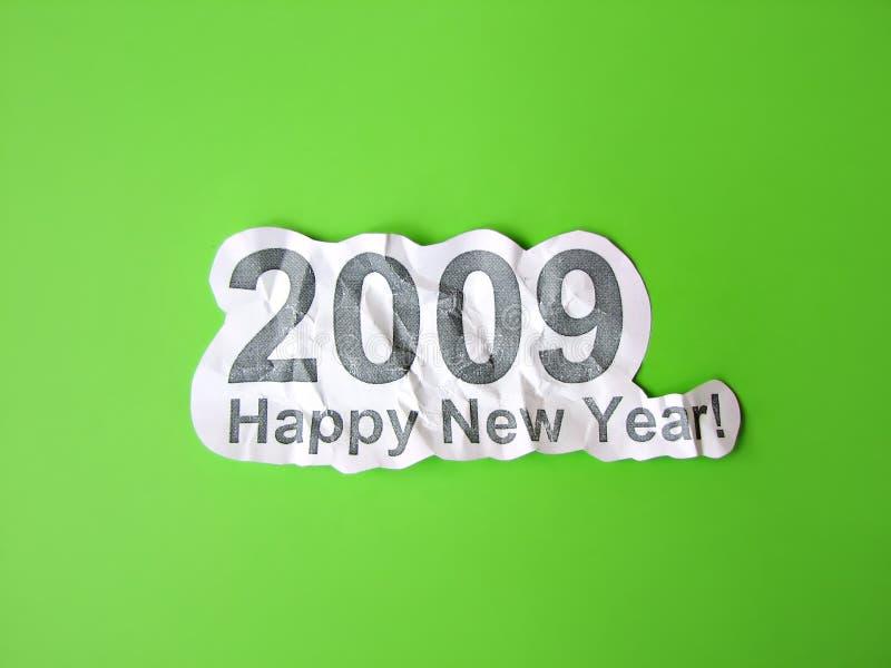 Glückwunsch des glücklichen neuen Jahres stockbilder