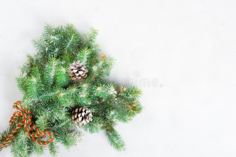 Glückwunschkarte frohe Weihnachten und neues Jahr lizenzfreie stockfotografie