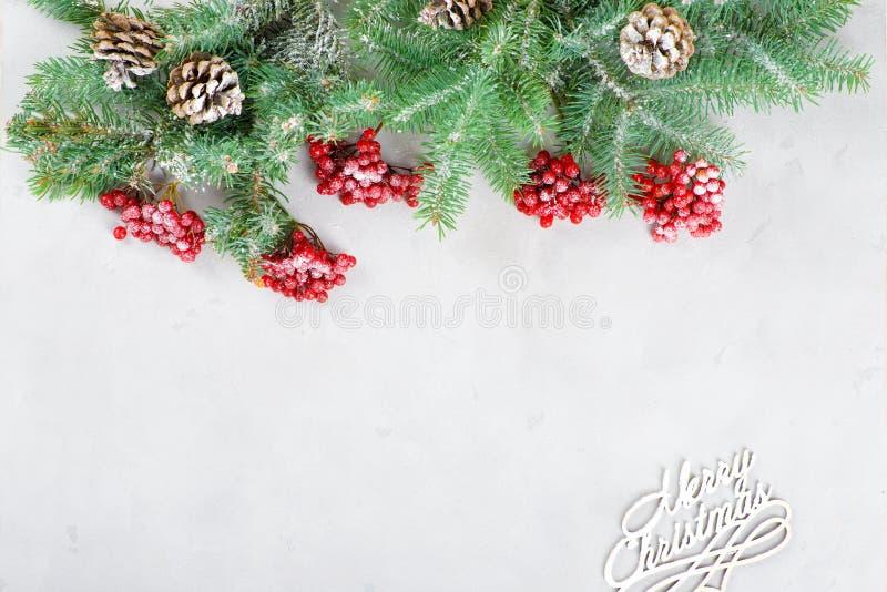 Glückwunschkarte frohe Weihnachten und neues Jahr lizenzfreie stockbilder