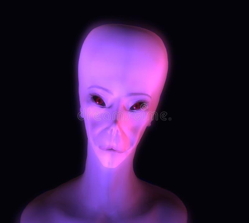 Glühen ausländisch vektor abbildung