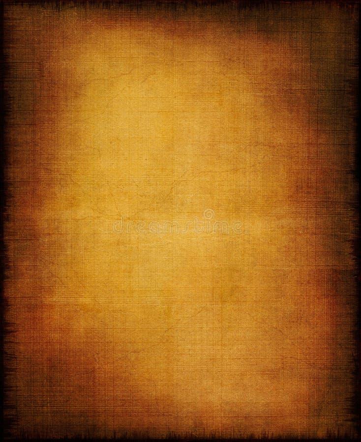 Glühende Tuch-Vignette Stockbild