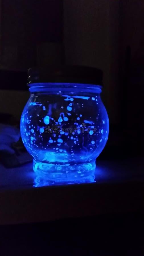 Glühendes Weckglas stockbilder