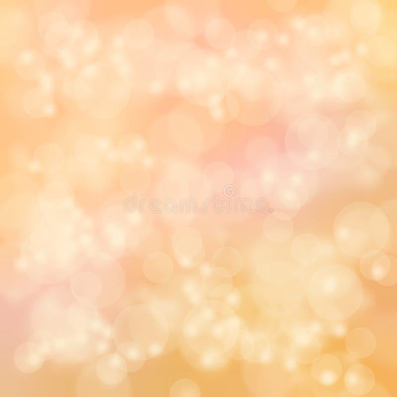 Glühenunschärfe-Designhintergrund stockfotografie