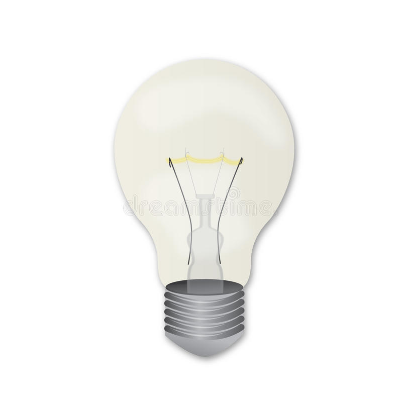 Glühlampe stock abbildung
