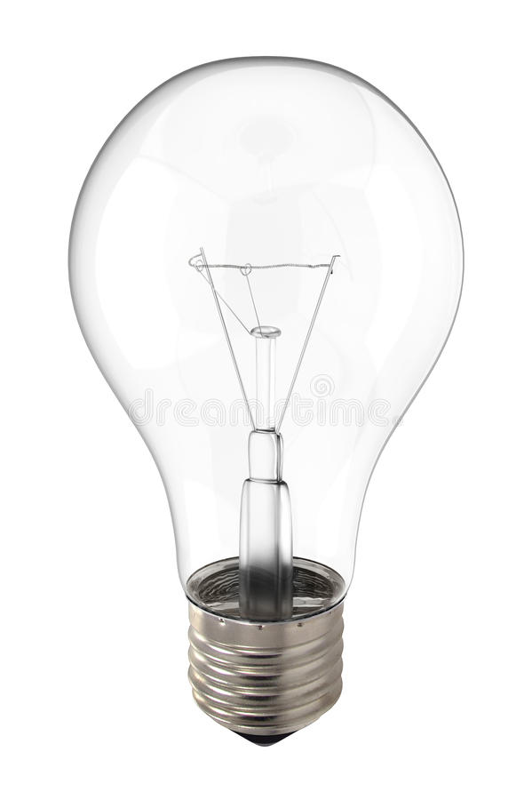 Glühlampe stockbild