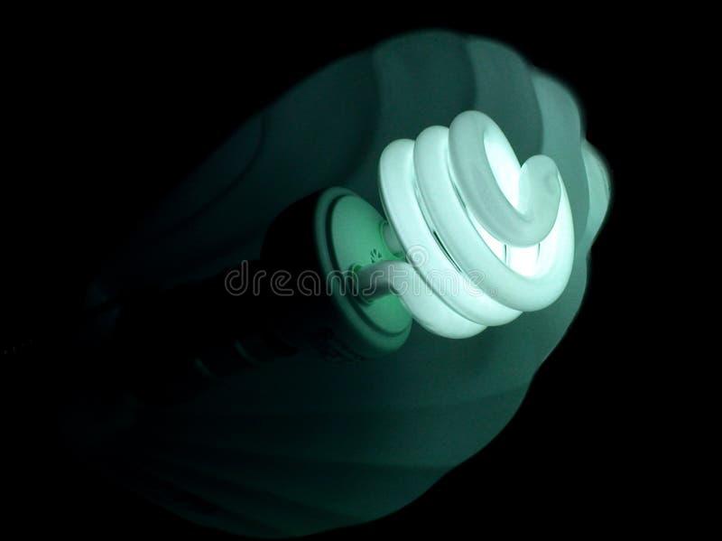 Download Glühlampe-blaues Grün stockbild. Bild von lampe, ideen, haupt - 46445