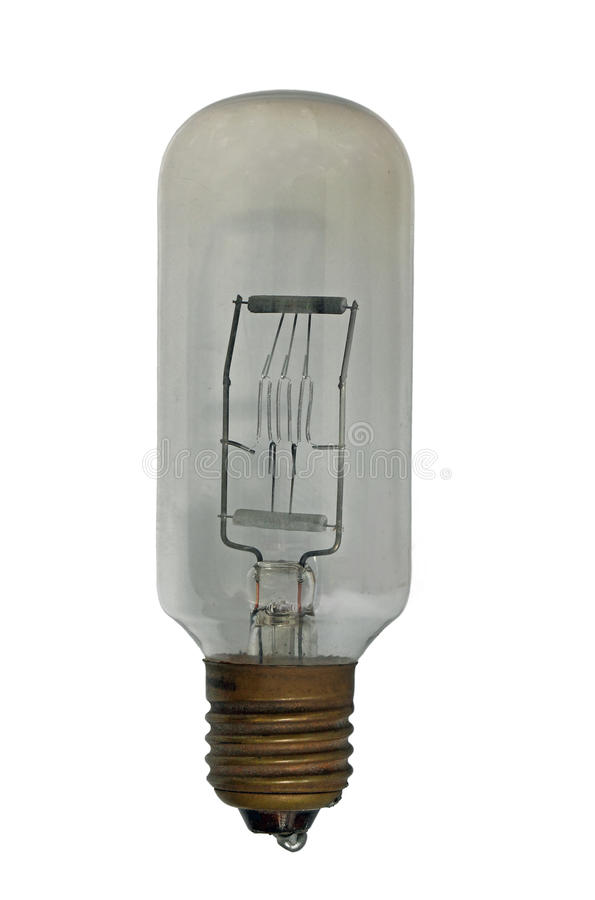 Glühlampemakro lizenzfreie stockfotografie