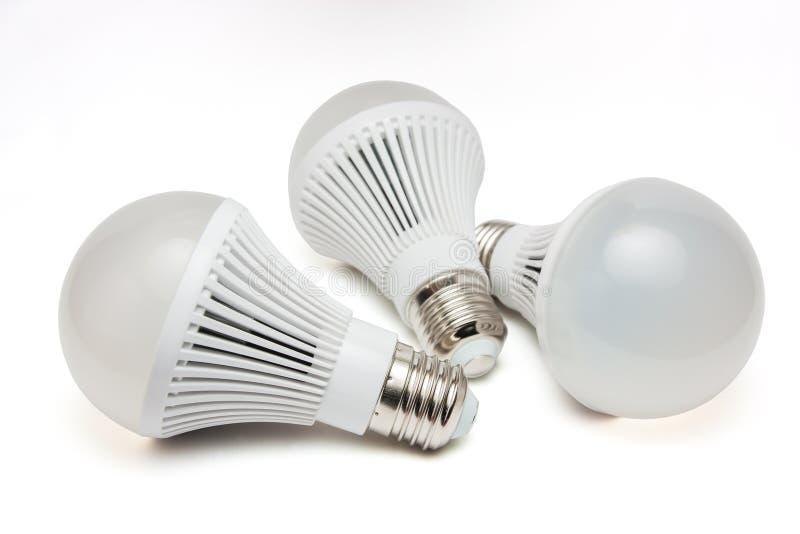 Glühlampen LED lizenzfreie stockfotos