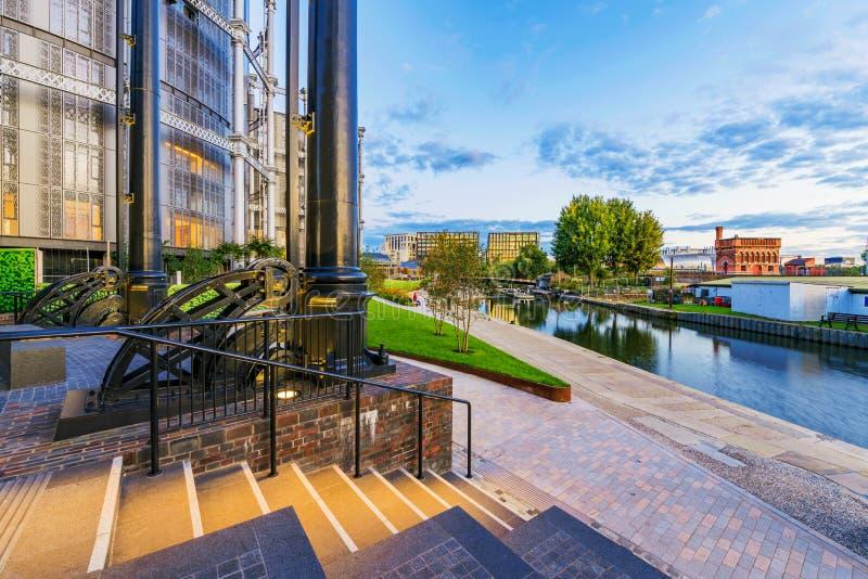 Gl?ttung von Ansicht des Regent-Kanals stockfotos