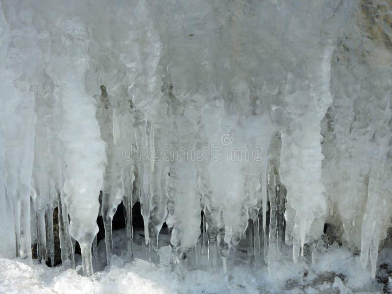 Glaçons de glace illustration libre de droits