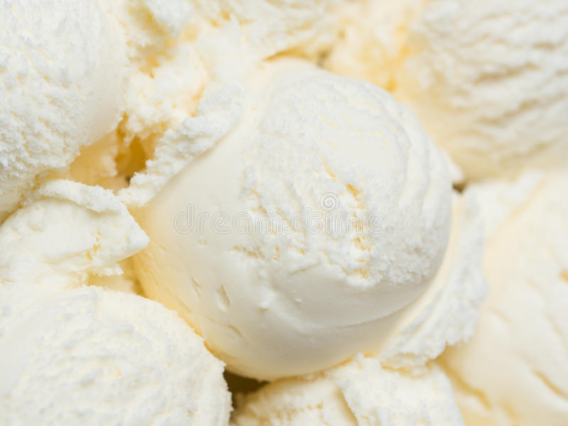 Glace à la vanille photos libres de droits