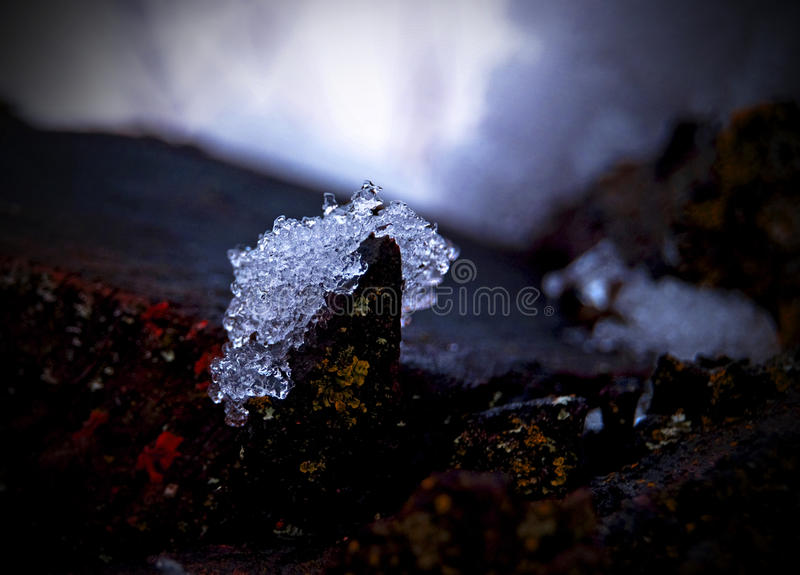 Glace photographie stock
