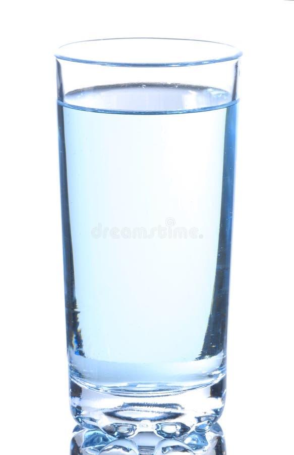 Glace avec de l'eau photo libre de droits