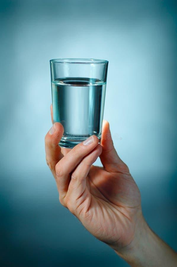 Glace avec de l'eau photos libres de droits