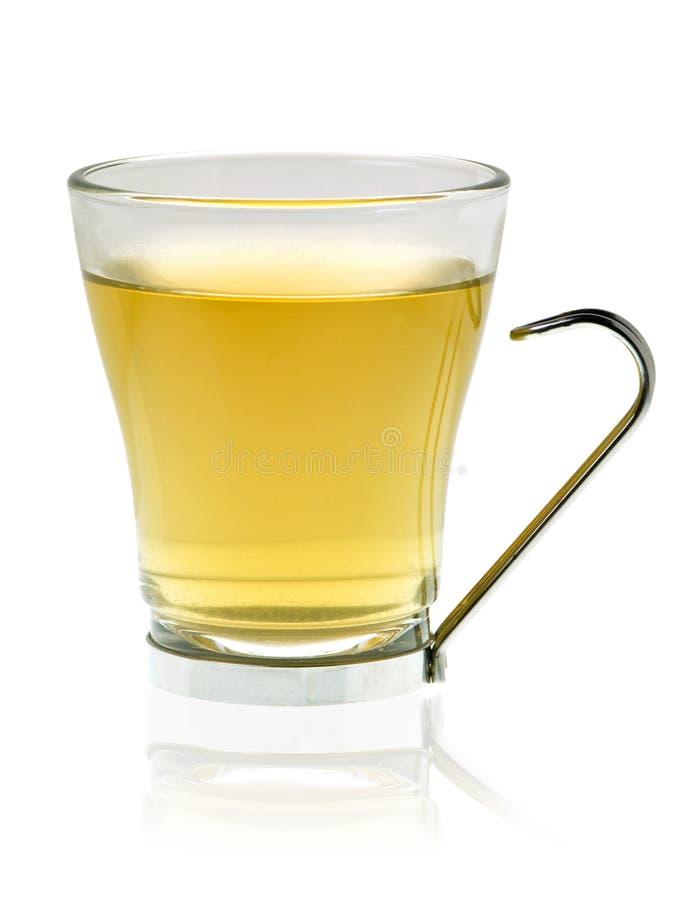 Glace avec du thé photographie stock libre de droits