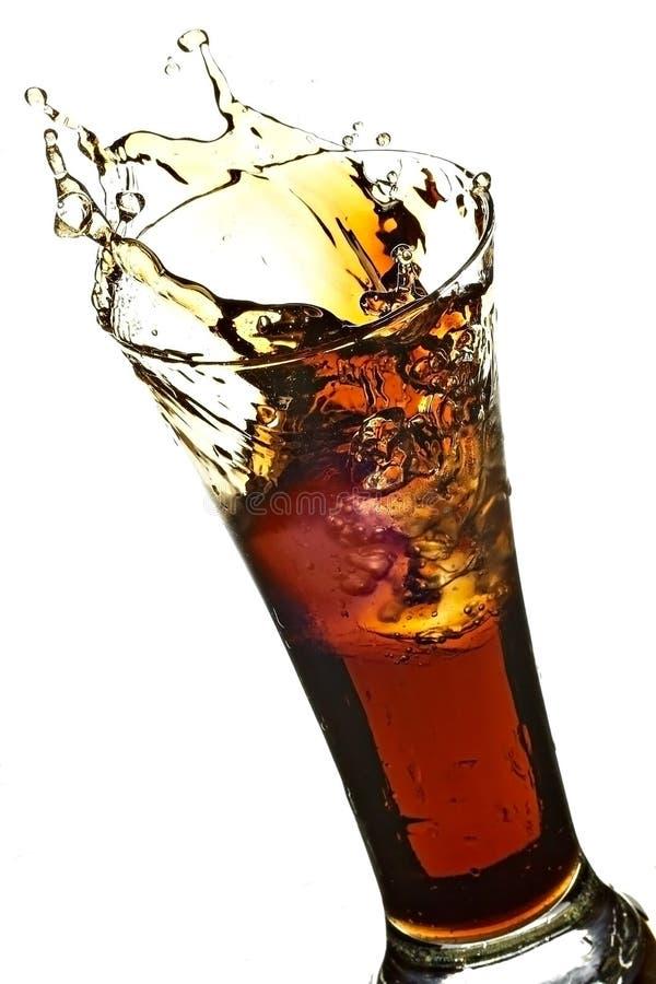 Glace avec le kola image stock