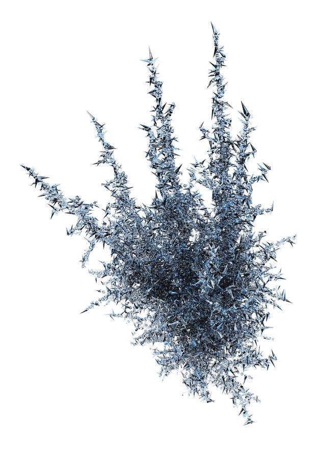 Glace bleue illustration libre de droits