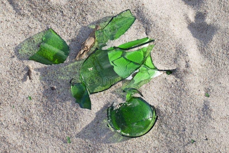 Glace cassée. photo libre de droits