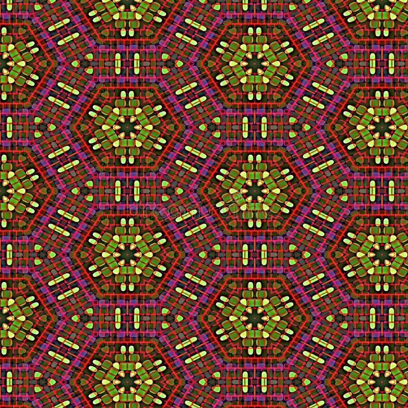 Glace colorée illustration stock
