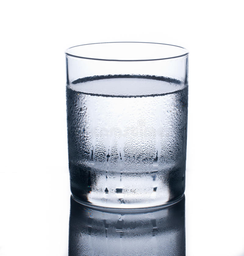 Glace d'eau froide photos stock