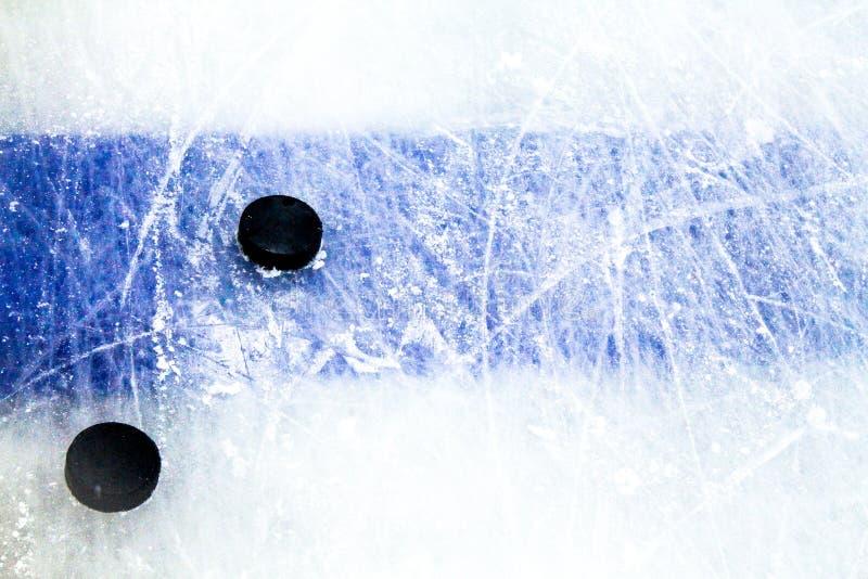 Glace d'hockey photos libres de droits