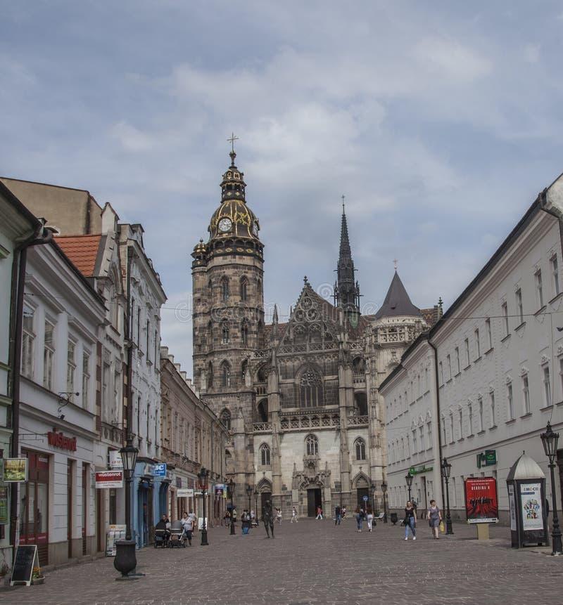 Glace de ¡ de KoÅ, Slovaquie, l'Europe - un jour ensoleillé photo stock