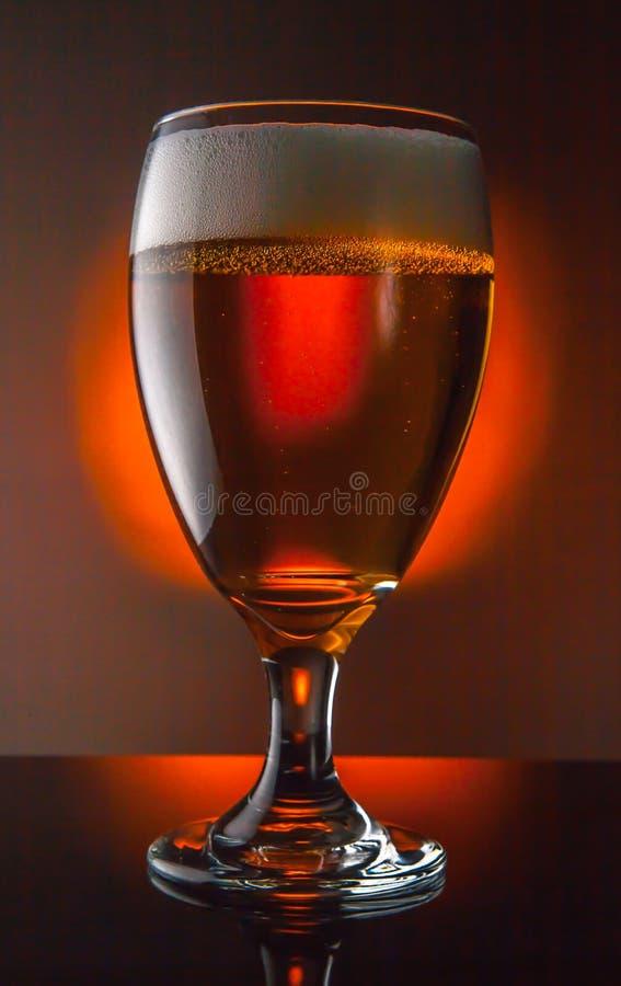Glace de bière photo stock