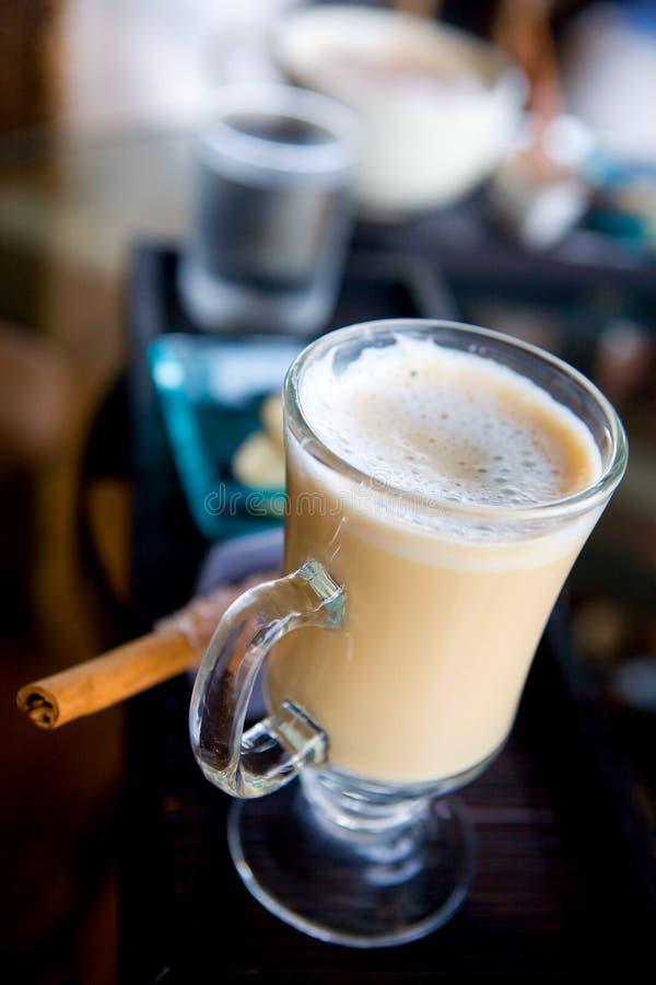 Glace de café de latte photographie stock libre de droits