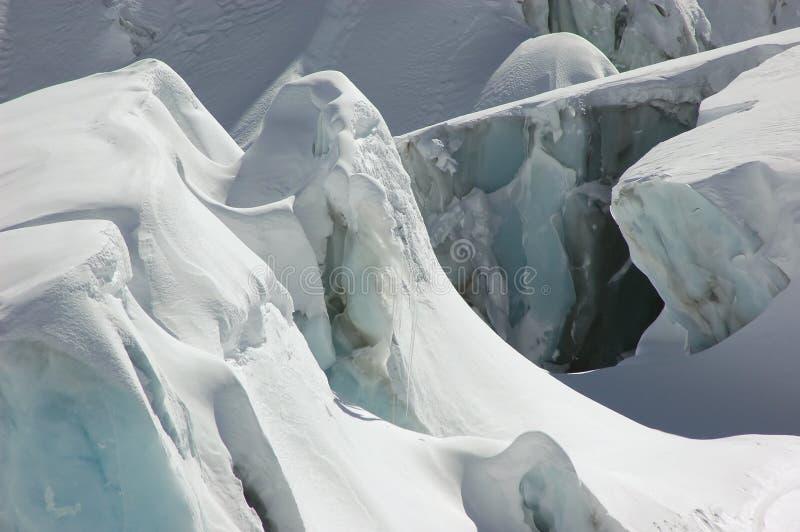 Glace de glacier photo stock