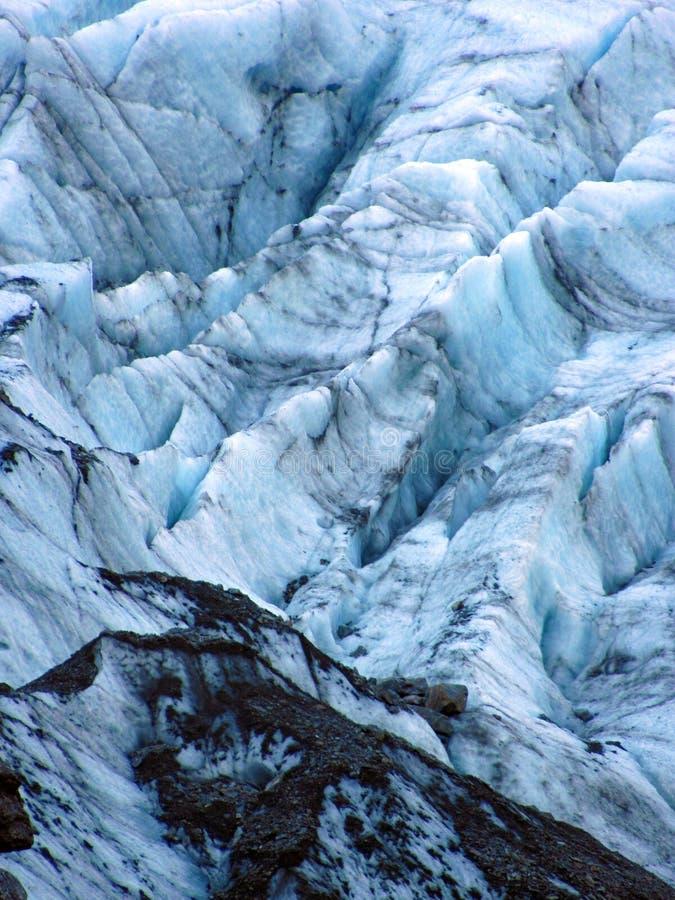 Glace 0395 de glacier image libre de droits