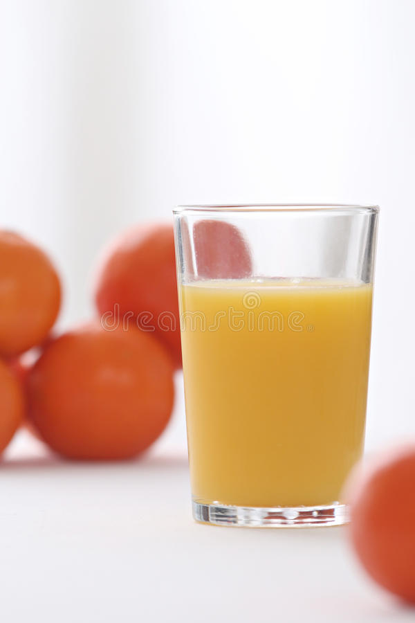 Glace de jus d'orange photos libres de droits