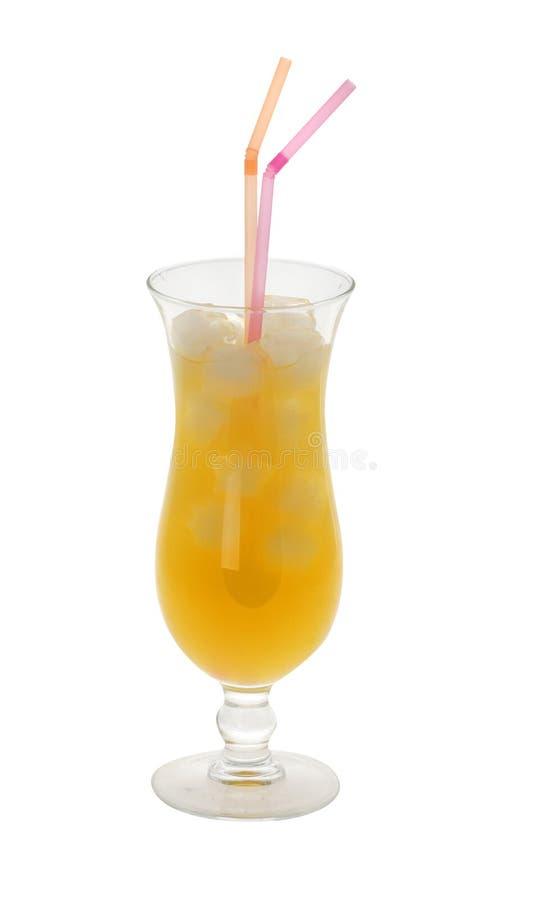 Glace de jus d'orange photos libres de droits