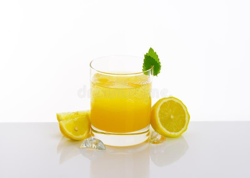 Glace de jus de citron photographie stock