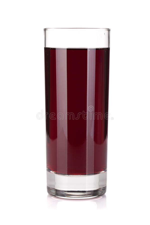 Glace de jus de raisins photos libres de droits
